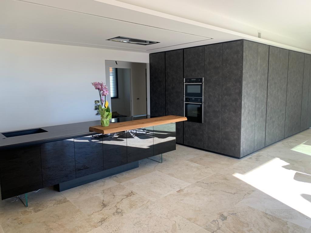 ICM - Cucina Moderna Nero Opaco